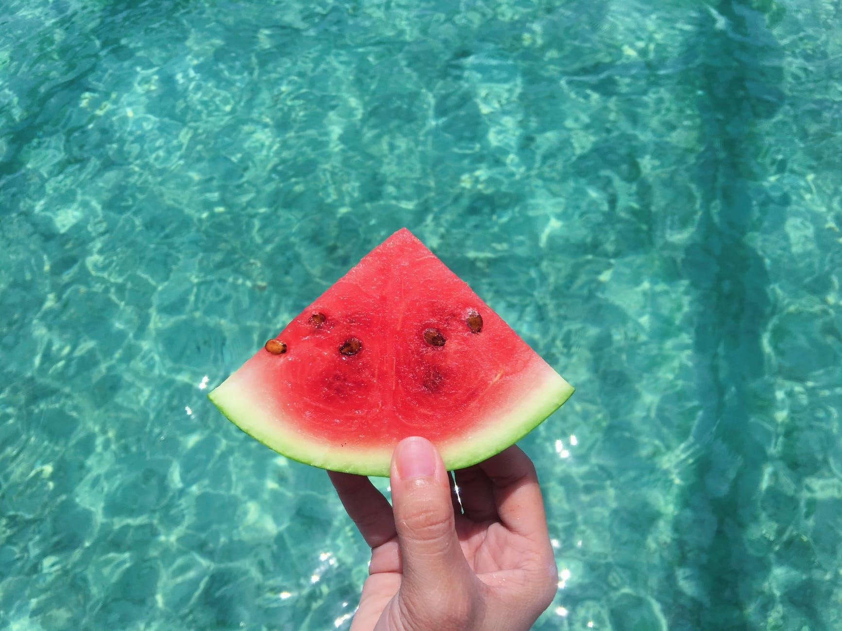 watermelon apple cider vinegar drink